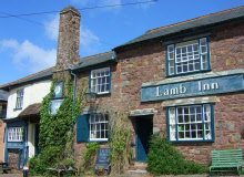 The Lamb Inn near Crediton