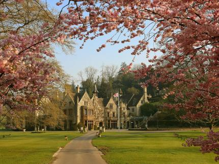 Manor House Hotel at Castle Combe, Wiltshire